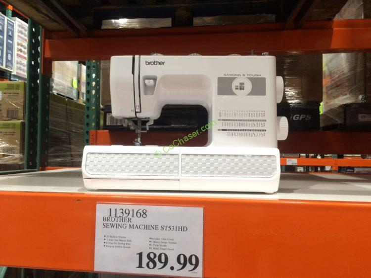 Brother Computerized Sewing Machine Model ST40HD CostcoChaser Awesome Costco Sewing Machine