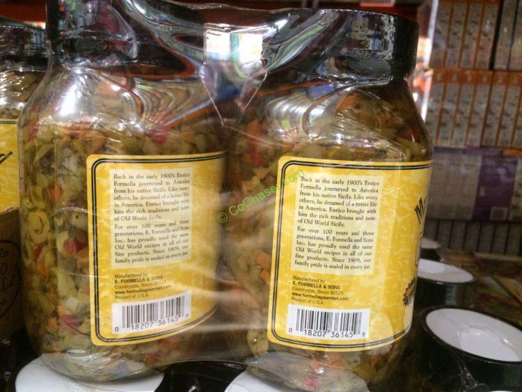 Enrico Formella Muffuletta Salad 2/32 Ounce Jars