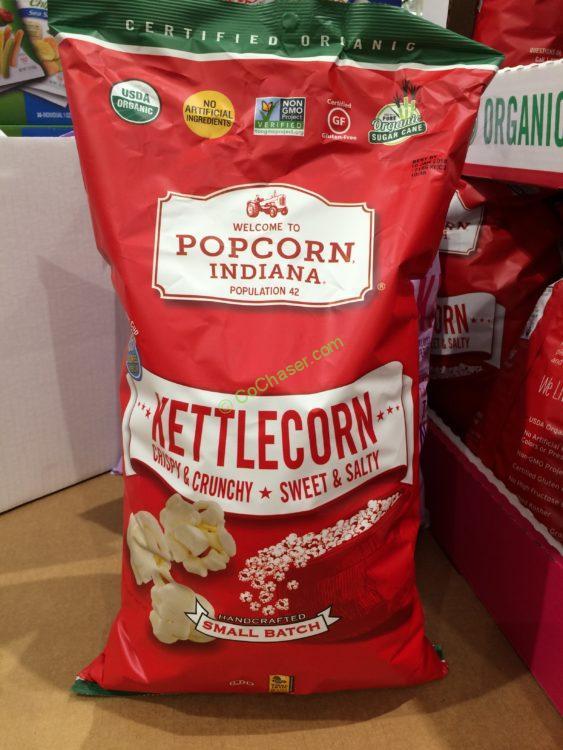Organic Kettlecorn Popciorn Indiana 23 Ounce Bag