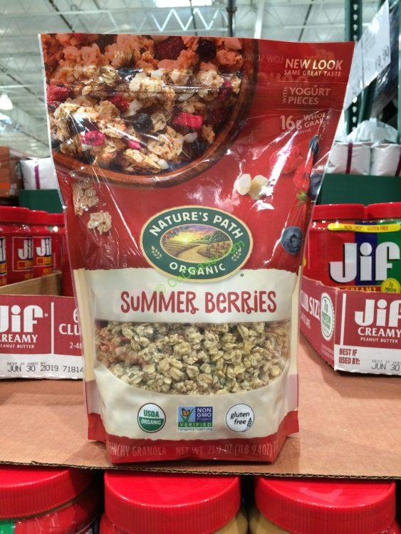 Nature's Path Summer Berries Granola 25.4 Ounce Bag