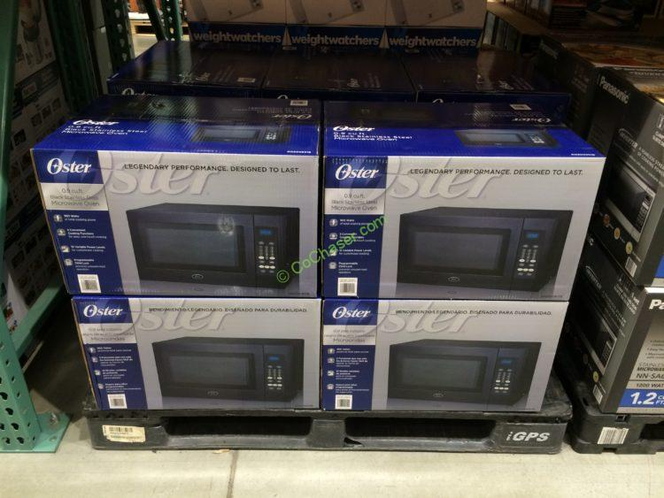 Costco 2000901 Oster 0 9 Cuft Microwave Oven All