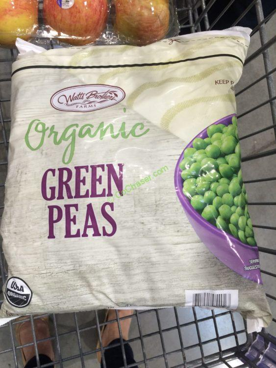 Watts Brothers Organic Green Peas 5 Pounds Bags Costcochaser