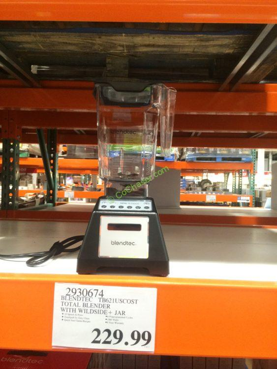 Blendtec Total Blender with Wildside + Jar, Model#TB621USCOST
