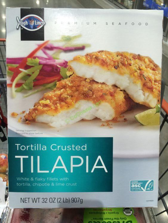 Highliner Tortilla Crusted Tilapia 2 Pound Box