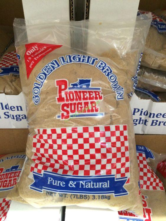 Pioneer Light Brown Sugar 7 Pound Bag