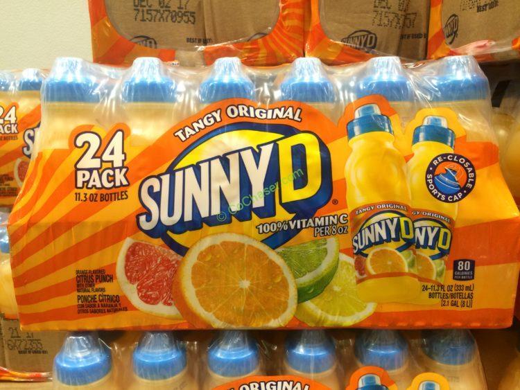 Tangy Original Sunny D 30-count 11.3 fl oz