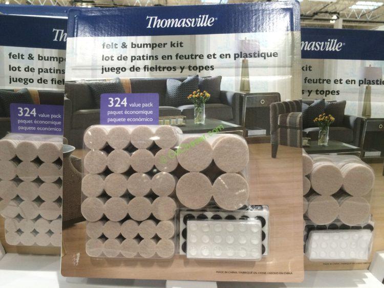 Thomasville Heavy Duty Felt Pads 324 Pieces Costcochaser