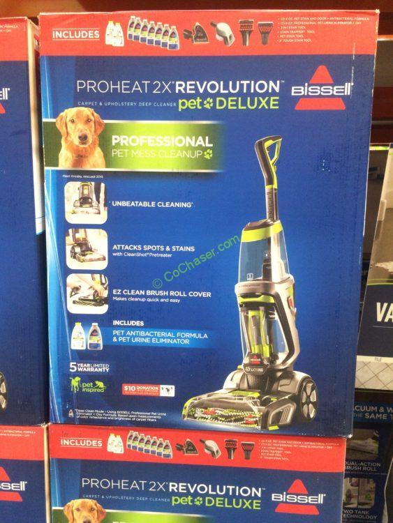 Bissell Proheat 2X Revolution Pet Carpet Cleaner, Model