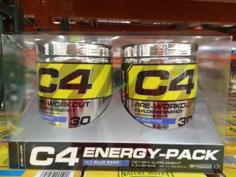 Cellucor C4 Pre-workout Blue Razz 2/30 Servings