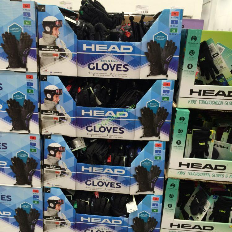 Costco 1042402 Head Junior Ski Gloves All Costcochaser