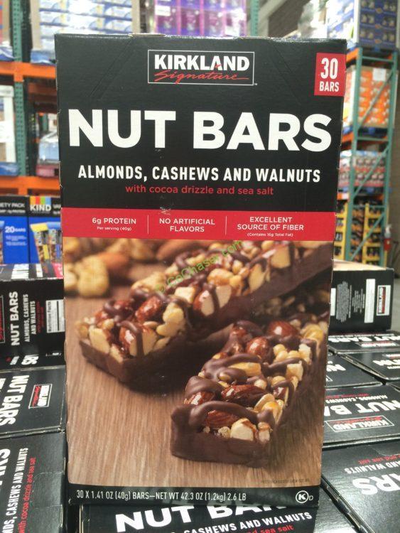 Kirkland Signature Nut Bar 30 Count Box