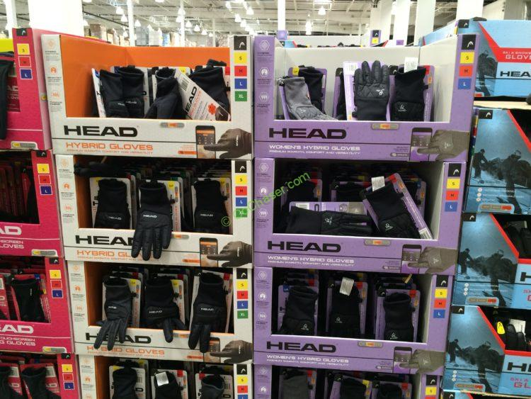 Head Hybrid Touchscreen Gloves, Men's or Woman's