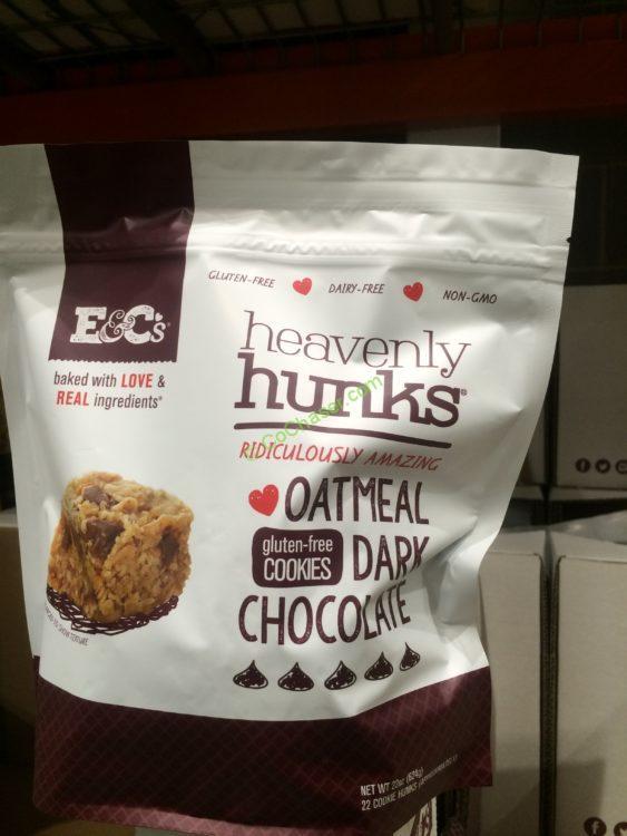 E & C's Heavenly Hunks Oatmeal Cookies 22 Ounce Bag
