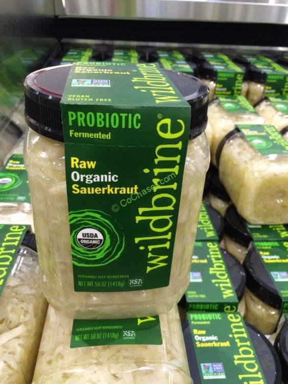 Wildbrine Organic Raw Sauerkraut 50 Ounce Container