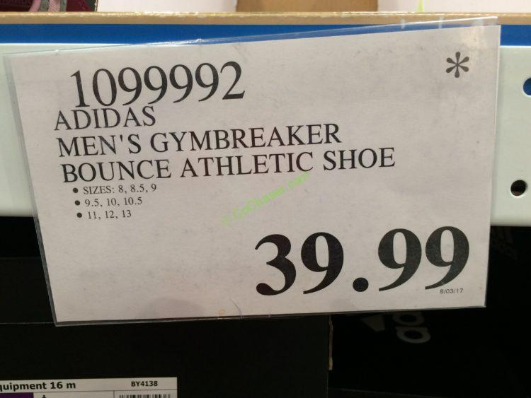 Costco-1099992-Adidas-Mens-Gymbreaker-Bounce-Athletic-Shoe-tag