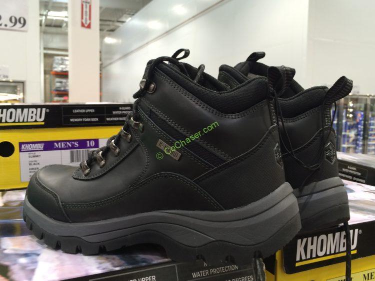 Khombu Men's Leather Boot Size: 8-13