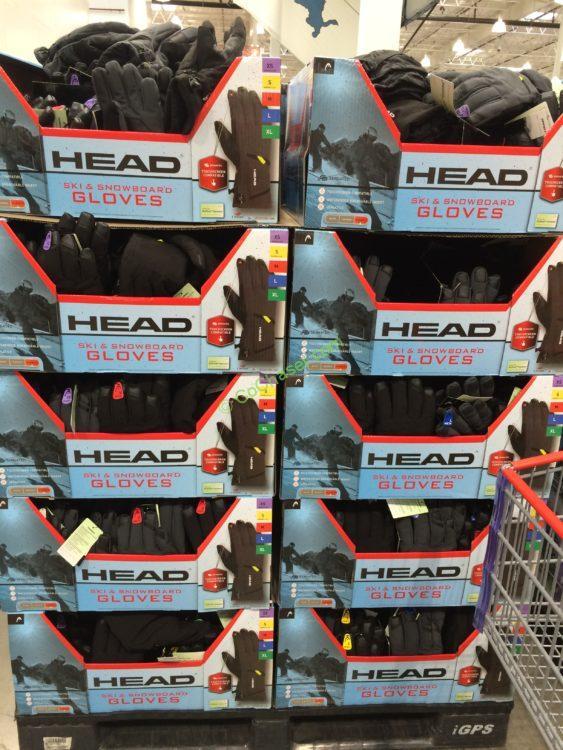 Head Unisex Ski Gloves Costcochaser