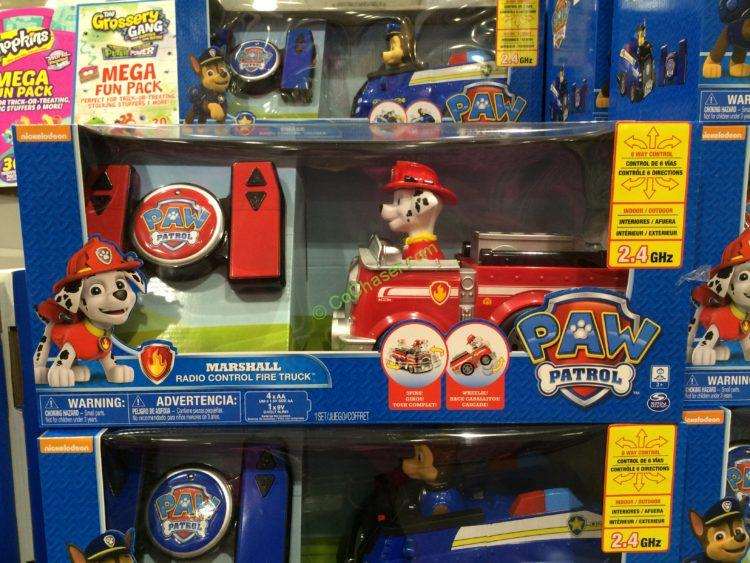 Costco-1140423-Paw-Patrol- RC-Vehicles-Chase -Marshall