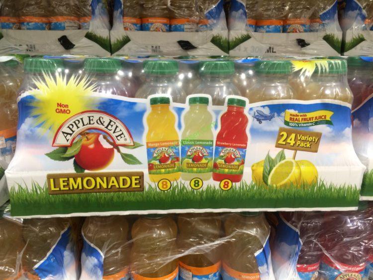 Apple & EVE Lemonade Variety 24/10 Ounce Bottles