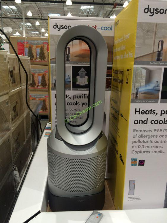 dyson pure hot cool heater fan purifier costcochaser. Black Bedroom Furniture Sets. Home Design Ideas