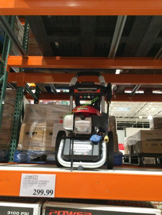 Costco-1166325-PowerStroke-3100-PSI-Honda-Powered-Gas-Pressure-Washer