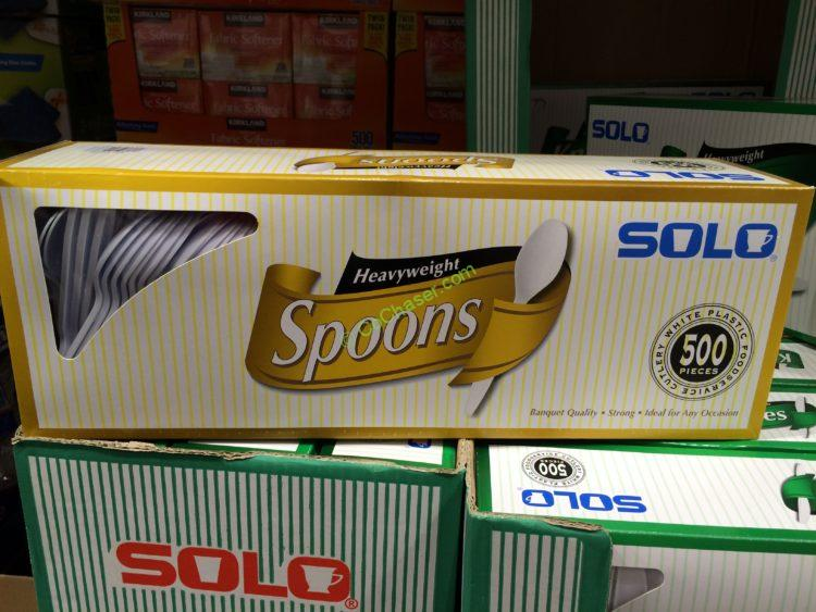 SOLO Heavyweight Spoons 500 Count Box
