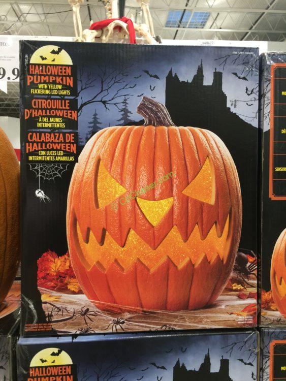 20 Halloween Pumpkin Led Lights And Sounds Costcochaser