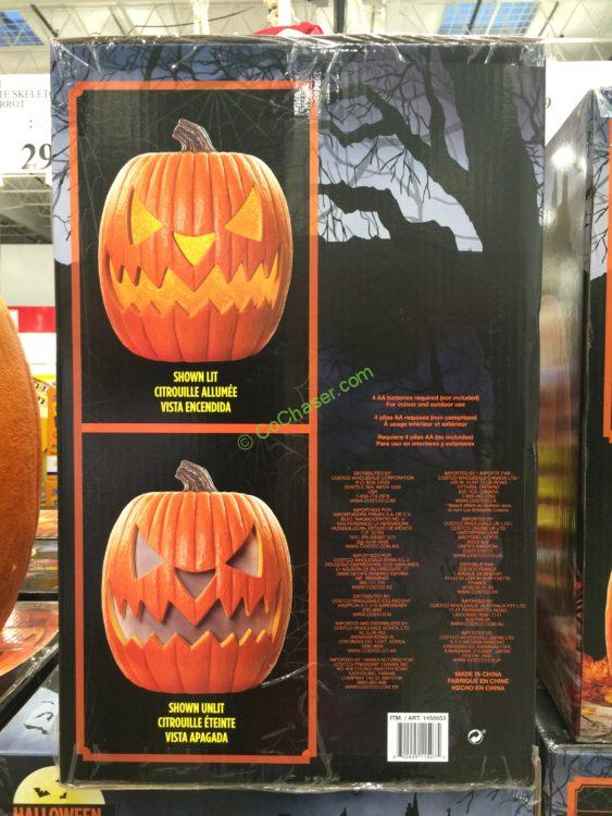 Costco 1455653 20 Halloween Pumpkin Led Lights And Sounds Inf Costcochaser