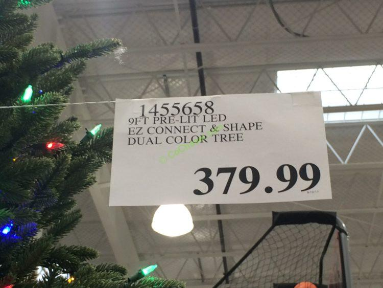 Costco-1455658-Pre-Lit-LE- EZ-Connect-Dual-Color-Christmas