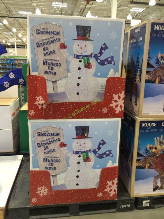 72 Led Snowman Costcochaser, Outdoor Light Up Snowman Costco