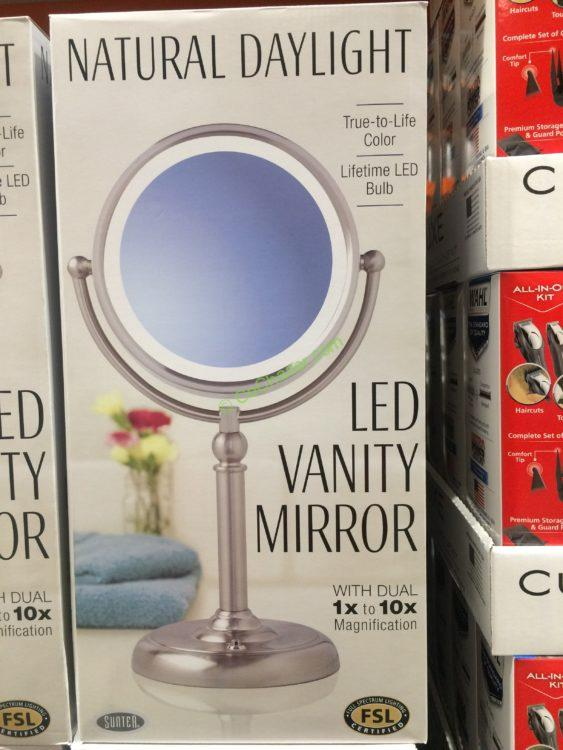Costco 2089081 Sunter Led Vanity Mirror Box Costcochaser