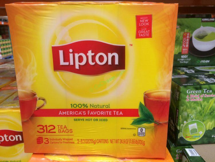 Lipton Tea Bags 312 Count Box