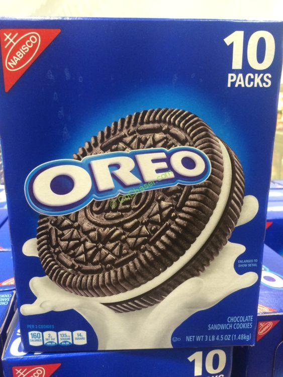 Nabisco OREO Cookies 52.5 Ounce Box