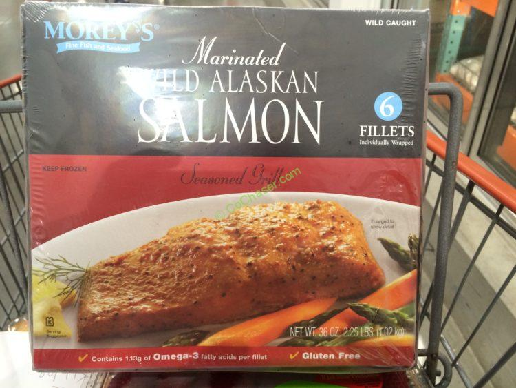 Morey S Wild Alaskan Salmon Pound Box Costcochaser