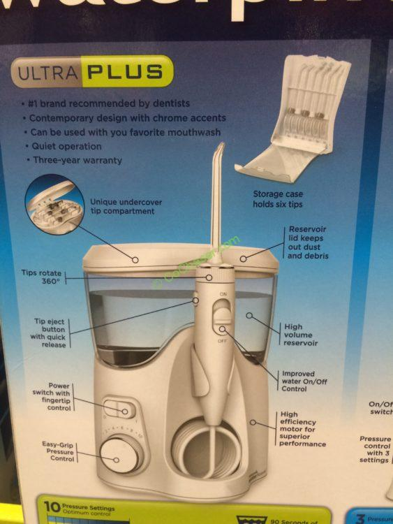 costco 3978082 waterpik ultra plus with nano water flosser combo part3 costcochaser. Black Bedroom Furniture Sets. Home Design Ideas