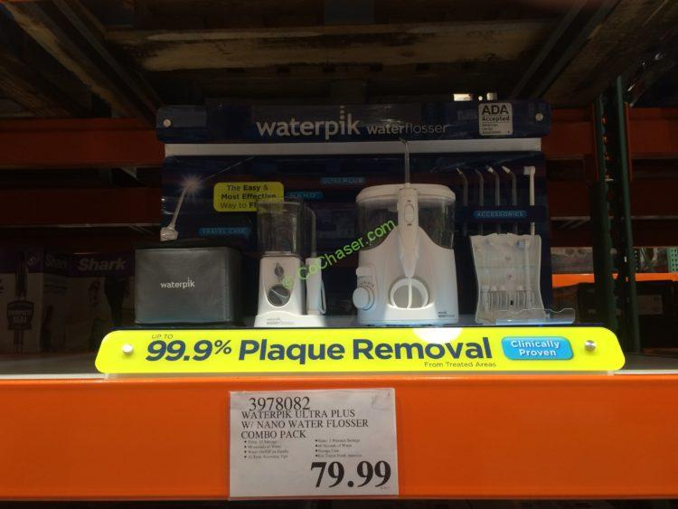 waterpik ultra plus with nano water flosser combo costcochaser. Black Bedroom Furniture Sets. Home Design Ideas