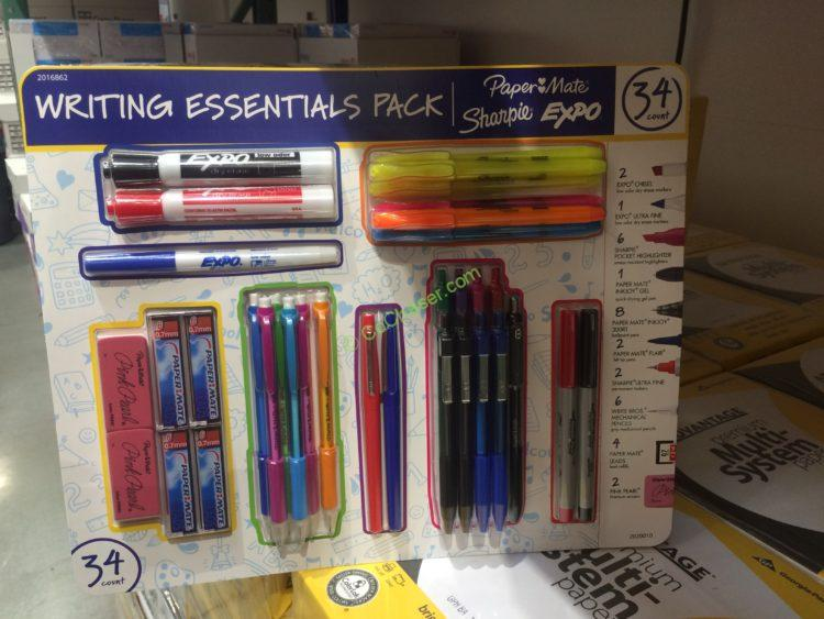 Papemate / Sharpie Writing Essentials 34 Pieces