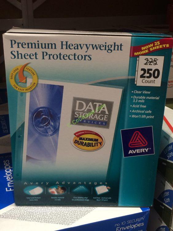 Avery Heavyweight Clear Sheet Protectors