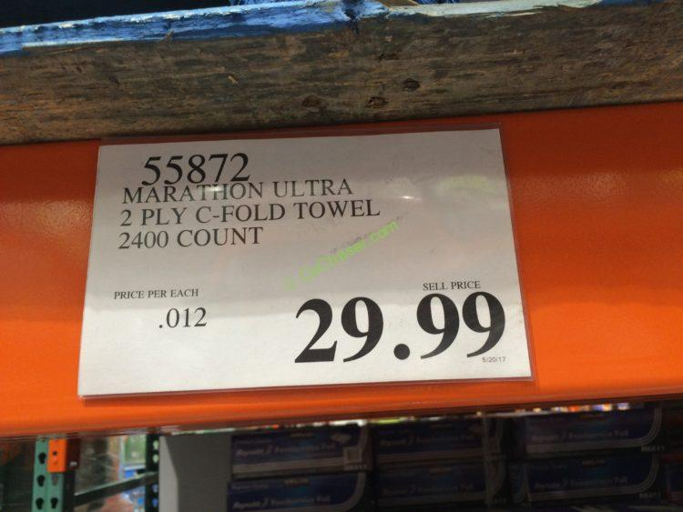 Costco-55872-Marathon-Ultra-2PLY-C-Fold-Towel-tag