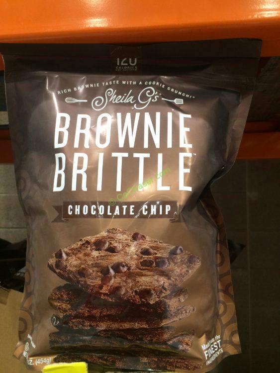 Sheila G's Brownie Brittle 16 Ounce Bag