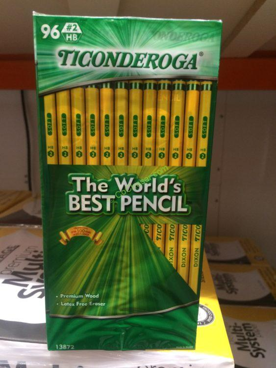Costco-684756-Dixon-Ticonderoga-No.2-Pencil
