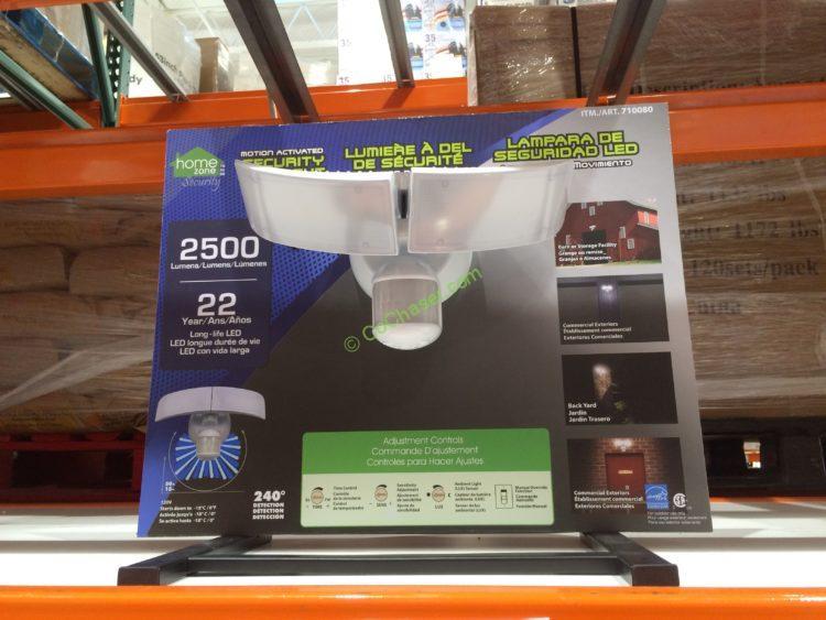 HomeZone LED Motion Sensor Security Light