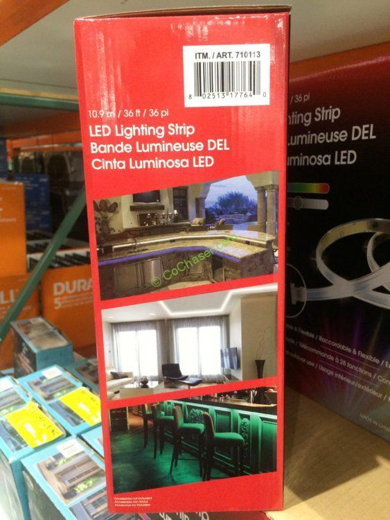 Costco 710113 Design Solutions 2 Foot Tape Light Back