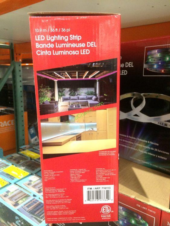 Costco 710113 Design Solutions 2 Foot Tape Light Pic