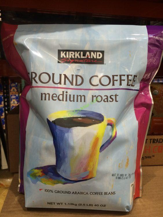 Kirkland Signature Medium Roast Coffee 2.5 Pound Bag