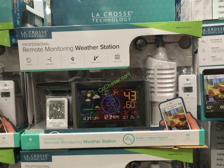 La Crosse 5-in-1 Professional Wireless Weather Station, Model#84428
