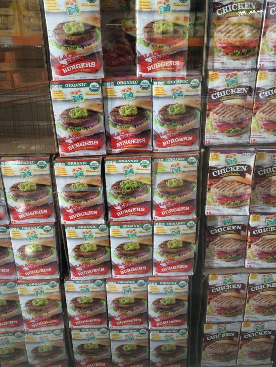 Costco 997176 Don Lee Farms Organic Black Bean Burgers All