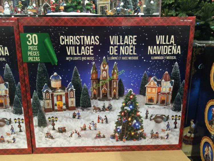 Costco Christmas Village 2020 Costco 999843 Christmas Village LED Lights Music box – CostcoChaser