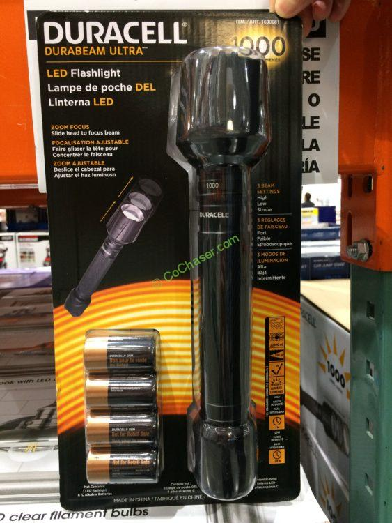 Duracell 1000 Lumen Flashlight