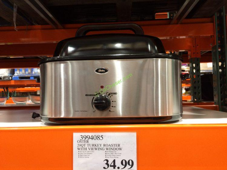 Oster 20QT Turkey Roaster with View Window